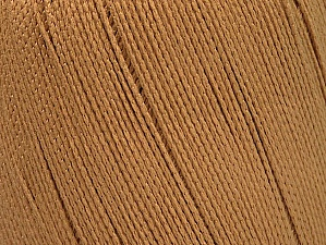Yarn is best for swimwear like bikinis and swimsuits with its water resistant and breathing feature. Fiber Content 100% Polyamide, Brand ICE, Camel, fnt2-61346