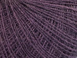 Fiber Content 40% Wool, 40% Acrylic, 20% Viscose, Purple, Brand ICE, fnt2-61364
