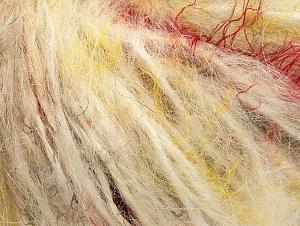Fiber Content 40% Polyamide, 30% Wool, 30% Acrylic, Brand ICE, Cream, Brown Shades, fnt2-61763