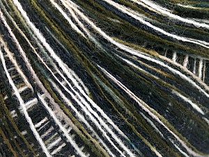 Fiber Content 60% Acrylic, 40% Wool, White, Khaki, Brand ICE, Black, fnt2-61781