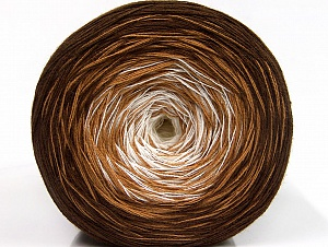 Fiber Content 50% Acrylic, 50% Cotton, Brand ICE, Brown Shades, Yarn Thickness 2 Fine  Sport, Baby, fnt2-61789