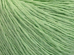 Fiber Content 100% Cotton, Light Green, Brand ICE, fnt2-62008