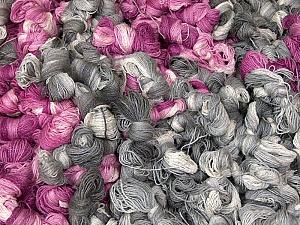 Magic Glitz Leftover This lot consists of about 100 hanks of Magic Glitz leftover yarn. The total weight is 2000 gr (70.5 oz.). Fiber Content 95% Acrylic, 5% Lurex, Brand ICE, fnt2-62175
