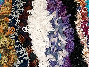 Ready-Made Scarves This mixed lot includes scarves made as sample Brand ICE, fnt2-62262