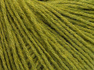 Fiber Content 60% Acrylic, 40% Wool, Brand ICE, Green, fnt2-62299