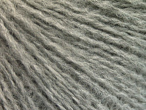 Fiber Content 50% Acrylic, 50% Wool, Light Grey, Brand ICE, fnt2-62303