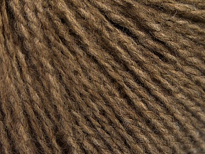 Fiber Content 50% Acrylic, 50% Wool, Brand ICE, Brown, fnt2-62306