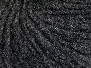 Fiber Content 50% Acrylic, 50% Wool, Brand ICE, Anthracite Black, Yarn Thickness 5 Bulky  Chunky, Craft, Rug, fnt2-62341