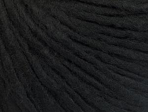 Fiber Content 50% Merino Wool, 25% Acrylic, 25% Alpaca, Brand ICE, Black, Yarn Thickness 5 Bulky  Chunky, Craft, Rug, fnt2-62343