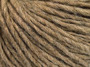 Fiber Content 50% Merino Wool, 25% Acrylic, 25% Alpaca, Brand ICE, Camel, Yarn Thickness 5 Bulky  Chunky, Craft, Rug, fnt2-62345
