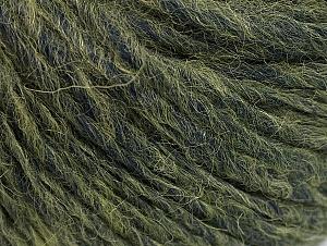 Fiber Content 50% Merino Wool, 25% Acrylic, 25% Alpaca, Navy, Brand ICE, Green, Yarn Thickness 5 Bulky  Chunky, Craft, Rug, fnt2-62348