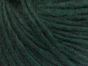 Fiber Content 50% Merino Wool, 25% Acrylic, 25% Alpaca, Brand ICE, Dark Green, Yarn Thickness 5 Bulky  Chunky, Craft, Rug, fnt2-62349