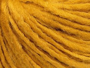 Fiber Content 50% Merino Wool, 25% Acrylic, 25% Alpaca, Brand ICE, Gold, Yarn Thickness 5 Bulky  Chunky, Craft, Rug, fnt2-62359