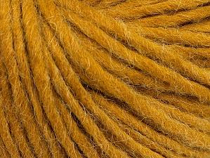 Fiber Content 50% Acrylic, 50% Wool, Brand ICE, Gold, Yarn Thickness 4 Medium  Worsted, Afghan, Aran, fnt2-62367