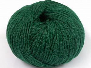 Fiber Content 50% Cotton, 50% Acrylic, Brand ICE, Dark Green, fnt2-62384
