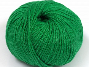 Fiber Content 50% Cotton, 50% Acrylic, Brand ICE, Green, fnt2-62385