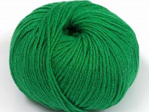 Fiber Content 50% Cotton, 50% Acrylic, Brand ICE, Green, fnt2-62385