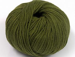 Fiber Content 50% Cotton, 50% Acrylic, Brand ICE, Dark Khaki, fnt2-62386