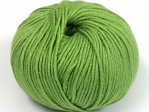 Fiber Content 50% Cotton, 50% Acrylic, Brand ICE, Green, fnt2-62389