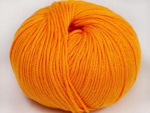 Fiber Content 50% Cotton, 50% Acrylic, Light Orange, Brand ICE, fnt2-62402