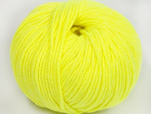 Fiber Content 50% Cotton, 50% Acrylic, Neon Yellow, Brand ICE, fnt2-62406