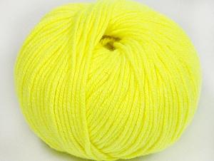 Fiber Content 50% Cotton, 50% Acrylic, Neon Yellow, Brand ICE, fnt2-62406