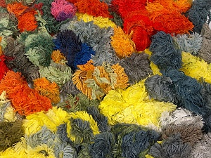 Lambkin Color Leftover The total weight is 900 gr Fiber Content 95% Acrylic, 5% Polyester, Brand ICE, fnt2-62431
