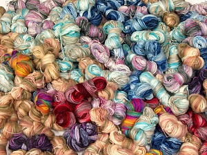 Angora Active Leftover This lot consists of more than 100 hanks of Angora Active yarn. The total weight is 2000 gr (70.5 oz.). Fiber Content 75% Acrylic, 25% Angora, Brand ICE, fnt2-62435