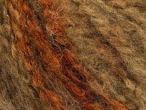 Fiber Content 50% Wool, 50% Acrylic, Brand ICE, Camel, fnt2-62491