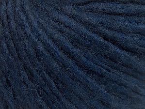 Fiber Content 50% Merino Wool, 25% Acrylic, 25% Alpaca, Navy, Brand ICE, fnt2-62497