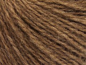 Fiber Content 50% Acrylic, 50% Wool, Light Brown, Brand ICE, fnt2-62510