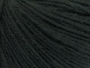 Fiber Content 60% Acrylic, 40% Wool, Brand ICE, Dark Green, fnt2-62523