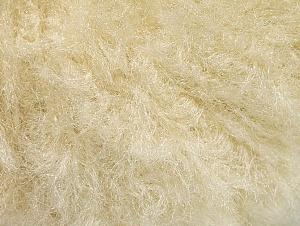 Fiber Content 95% Viscose, 5% Polyamide, Brand ICE, Cream, Yarn Thickness 4 Medium  Worsted, Afghan, Aran, fnt2-62550