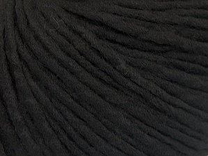 Fiber Content 100% Acrylic, Brand ICE, Black, Yarn Thickness 4 Medium  Worsted, Afghan, Aran, fnt2-62552