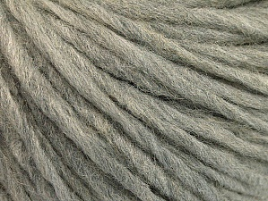 Fiber Content 50% Merino Wool, 25% Acrylic, 25% Alpaca, Light Grey, Brand ICE, Yarn Thickness 4 Medium  Worsted, Afghan, Aran, fnt2-62555