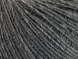 Fiber Content 50% Wool, 50% Acrylic, Brand ICE, Dark Grey, Yarn Thickness 1 SuperFine  Sock, Fingering, Baby, fnt2-62564