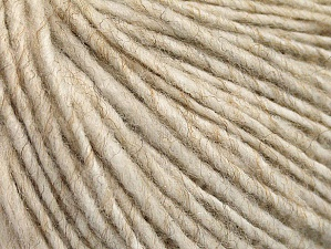 Fiber Content 50% Acrylic, 50% Wool, Brand ICE, Beige, fnt2-62599