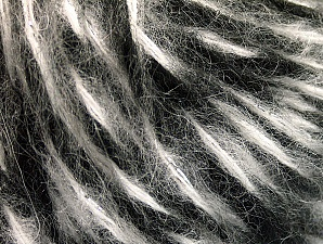 Fiber Content 50% Wool, 50% Acrylic, White, Brand ICE, Grey, Black, fnt2-62600