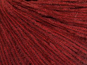 Fiber Content 100% Polyester, Brand ICE, Dark Red, fnt2-62612