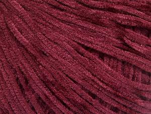 Fiber Content 100% Polyester, Brand ICE, Burgundy, fnt2-62613