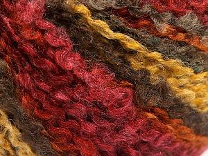 Fiber Content 40% Acrylic, 40% Wool, 20% Polyamide, Yellow, Orange, Brand ICE, Gold, Camel, Burgundy, fnt2-62638