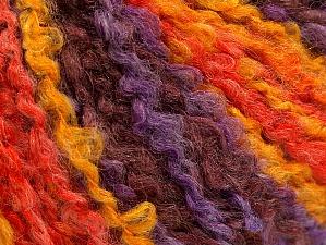 Fiber Content 40% Acrylic, 40% Wool, 20% Polyamide, Salmon, Maroon, Lilac, Brand ICE, Gold, fnt2-62639