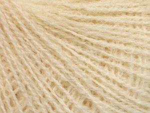 Fiber Content 35% Acrylic, 35% Merino Wool, 30% Baby Alpaca, Brand ICE, Cream, fnt2-62677