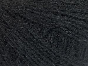 Fiber Content 35% Acrylic, 35% Merino Wool, 30% Baby Alpaca, Brand ICE, Black, fnt2-62678