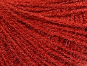 Fiber Content 50% Acrylic, 25% Alpaca, 25% Merino Wool, Brand ICE, Dark Orange, fnt2-62683
