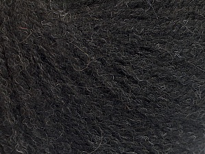 Fiber Content 50% Acrylic, 25% Alpaca, 25% Merino Wool, Brand ICE, Black, fnt2-62685