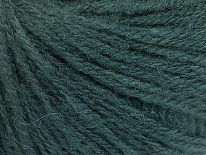 Fiber Content 50% Acrylic, 25% Alpaca, 25% Merino Wool, Brand ICE, Dark Green, fnt2-62686