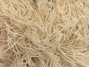 Fiber Content 6% Polyamide, 46% Acrylic, 29% Wool, 19% Viscose, Light Beige, Brand ICE, fnt2-62771