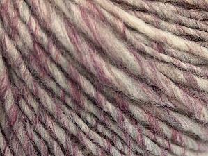 Fiber Content 50% Wool, 50% Acrylic, Purple, Brand ICE, Grey, Cream, Copper, fnt2-62784