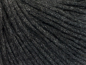 Fiber Content 35% Cotton, 35% Acrylic, 30% Wool, Brand ICE, Anthracite Black, fnt2-62788